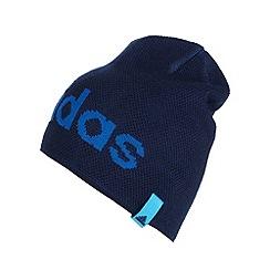 adidas - Blue plain logo beanie