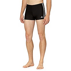adidas - Black 'Infinitex' swim trunks