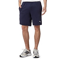 Puma - Navy sweat shorts