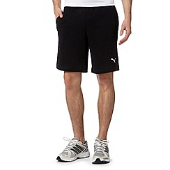 Puma - Black sweat shorts