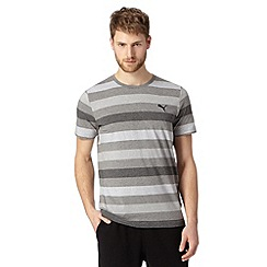 Puma - Black block striped technical t-shirt