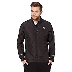 Puma - Black lightweight sports jacket