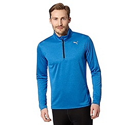 Puma - Blue funnel neck pullover