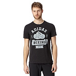 adidas - Dark grey 'BOXING NYC' t-shirt