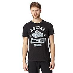 adidas - Dark grey 'BOXING NYC' t-shirt