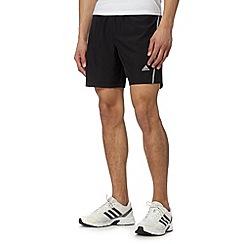 adidas - Black 'ClimaLite' run shorts