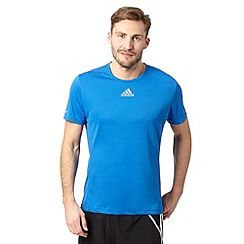 adidas - Royal blue run 'ClimaLite' t-shirt