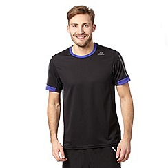 adidas - Black 'Supernova' running t-shirt