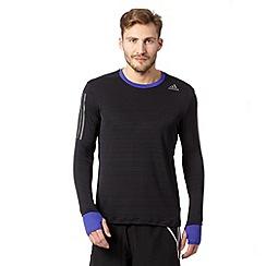 adidas - Black 'Supernova' running top