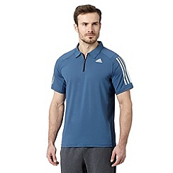 adidas - Blue cool sport polo shirt