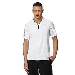 adidas - White 'Climacool' polo shirt