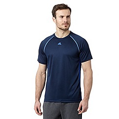 adidas - Navy sport 'ClimaLite' t-shirt