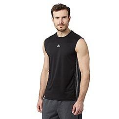 adidas - Black tank vest top