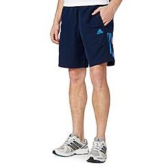 adidas - Navy 'Climalite' woven shorts