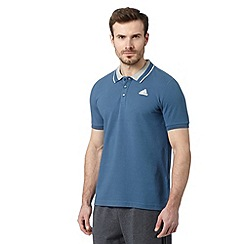 adidas - Blue 'ClimaLite' polo shirt