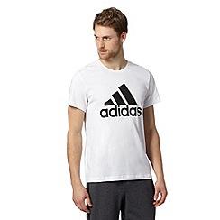adidas - White logo t-shirt
