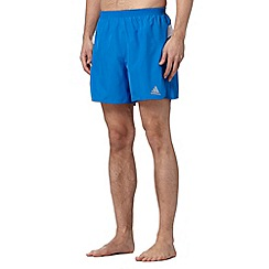 adidas - Royal blue 'Response' running shorts