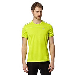 adidas - Neon lime running t-shirt