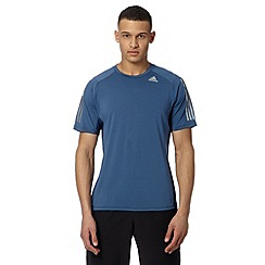 adidas - Blue 'Climacool' sports t-shirt