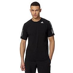 adidas - Black 'Climacool' sports t-shirt