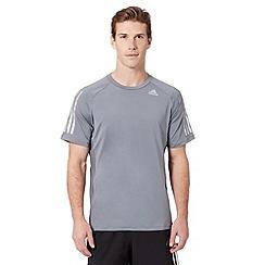 adidas - Grey 'ClimaCool' t-shirt