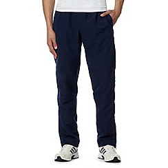 adidas - Blue 'Climalite' zip cuff trousers