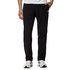 adidas - Black 'Climalite' zip cuffs trousers
