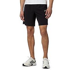adidas - Black 'ClimaCool' woven shorts