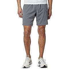 adidas - Grey 'Climacool' reflective shorts