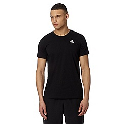 adidas - Black 'Climalite' crew neck t-shirt