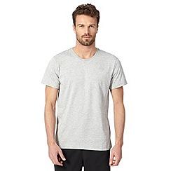 adidas - Grey 'ClimaLite' sport t-shirt