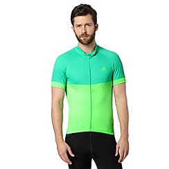 adidas - Green 'Response' zip through cycling top