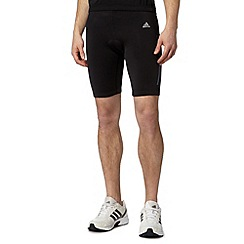 adidas - Black padded spinning shorts