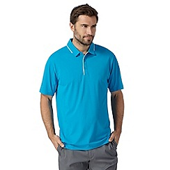 Nike - Blue 'Dri-FIT' sports polo shirt