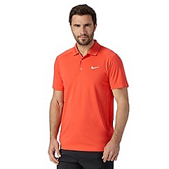 Nike - Red 'Victory' slim fit golf polo shirt