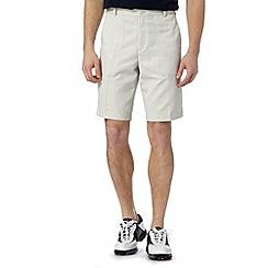 Nike - Beige herringbone texture shorts