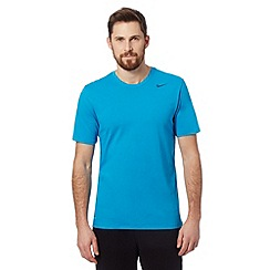 Nike - Blue short sleeved logo t-shirt
