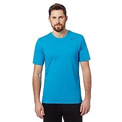 Nike - Blue short sleeved logo t-shirt