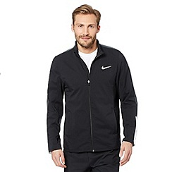Nike - Black woven zip through jacket