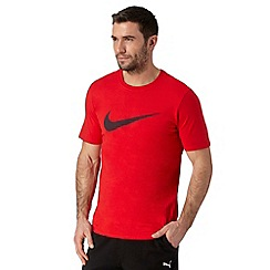 Nike - Red logo print t-shirt