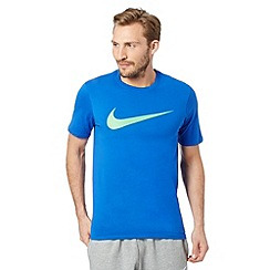 Nike - Blue chest logo t-shirt