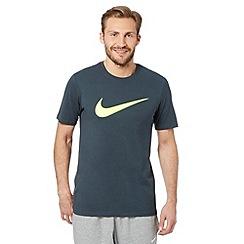 Nike - Grey neon logo t-shirt