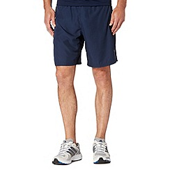Reebok - Navy 'Playdry' sports shorts
