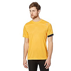 Reebok - Orange 'Playdry' sports t-shirt
