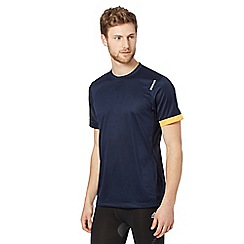 Reebok - Navy 'Playdry' sports t-shirt