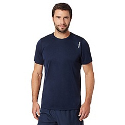 Reebok - Navy 'Playdry' sports t-shirt
