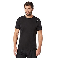 Reebok - Black 'Playdry' sports t-shirt