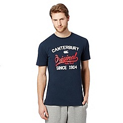 Canterbury - Navy 'Original Rugby Club' t-shirt