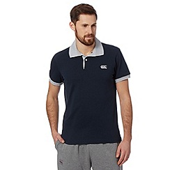 Canterbury - Dark grey pique polo shirt