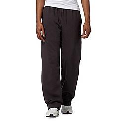 Canterbury - Dark grey fleece lined jogging bottoms